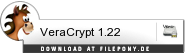 Download VeraCrypt 1.23 Hotfix bei Filepony.de