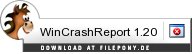 Download WinCrashReport bei Filepony.de