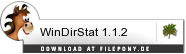 Download WinDirStat bei Filepony.de