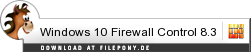 Download Windows 10 Firewall Control bei Filepony.de