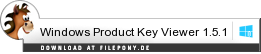 Download Windows Product Key Viewer bei Filepony.de