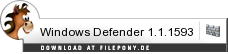 Download Windows Defender bei Filepony.de