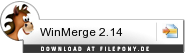 Download WinMerge bei Filepony.de
