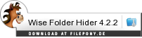 Download Wise Folder Hider bei Filepony.de