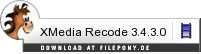 Download XMedia Recode bei Filepony.de