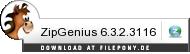 Download ZipGenius bei Filepony.de