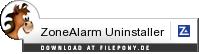Download ZoneAlarm Uninstaller bei Filepony.de